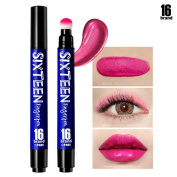 [16BRAND] Sixteen Finger Pen 5ml - Multi Stick Makeup - Lipstick & Eye Shadow & Blusher