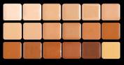 Warm HD Glamour Creme Super Palette Graftobian Long Lasting Lip 18-Colour