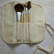LaiFeiYa - Hot Selling 5pcs/set New BAMBOO Makeup Brush Set Make Up Brushes Tools
