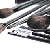 18pcs Pro Makeup Brush Cosmetic Brushes Kabuki Face Nose Powder Foundation Tool