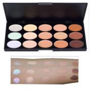 15 Colours Professional Waterproof Contour Face Cream Makeup Concealer Palette
