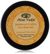 Aloe Veda Sandalwood & Saffron Facial Ubtan Pack (Soothing After Glow), 50 gm