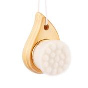 HFUN Facial Cleansing Brush Exfoliate Pore Cleaner Deep Cleanse with Soft Micro Fibre Fur & High Grade Pine Handle