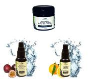 Simply Radiant Beauty Organic Age Reversing Skincare Set- Age Reversing Eye Serum, Triple Action Daily Moisturiser, Vitamin C Serum