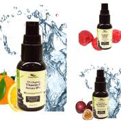 Simply Radiant Beauty Organic Anti-Ageing, Intense Firming Serum Set- Vitamin C, Age Reversing Eye and DMAE Serum
