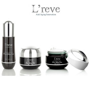 L'reve Luxury Skin Care Black Diamond DMAE Facial Lifting Set