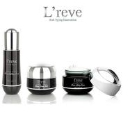 L'reve Luxury Skin Care Black Diamond DMAE Facial Lifting Set