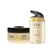 Olay Total Effects 7 in 1 Anti ageing Day and Night Regime for Normal Skin 50 gm each
