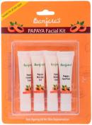 Banjara's Papaya Nature's Essence Facial Kit (4 Tubes Inside), 60 g
