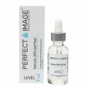 Perfect Image Level 2 Salicylic 20% Gel Peel - Enhanced with Tea Tree Oil & Green Tea Extract, 30ml - 2pc
