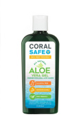 Coral Safe Natural Aloe Vera Gel - Biodegradable and Reef Friendly, 240ml