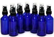 60ml Cobalt Blue Bottle with Black Sprayer - 12 pack