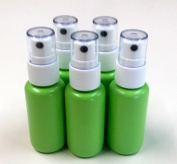 Empty (35ml) BPA Free Refillable Green Plastic Fine Mist Spray Bottle