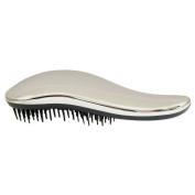#1 BEST Detangling Brush - Lily England Detangler Hairbrush for Wet, Dry, Fine, Thick & Kids Hairbrush. No More Tangle! 100% Lifetime 'Happiness' Guarantee! Silver