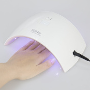 24W Portable LED UV Lamp Nail Dryer Polish Machine for Curing Nail Gel Art Tool