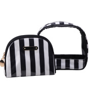 2 PCS Set Make-Up Bag Cosmetic Pouch Tote Bag Carry Case