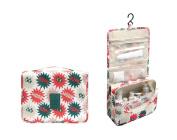 Portable Hanging Toiletry Bag Portable Travel Organiser Cosmetic Bag for Women Makeup or Men Shaving Kit