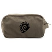 Starcraft Zerg Canvas Shower Kit Travel Toiletry Bag Case