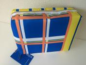 Sonia Kashuk Beauty Organiser Makeup Cosmetic Travel Bag - Plaid Stripes