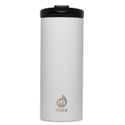 Mizu Travel Mug Coffee Lid Gloss White 500ml