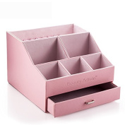 Beauty Artisan Cosmetics Receive a Case Draw Out the Desktop Makeup Box