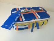 Sonia Kashuk Small Train Case Makeup Cosmetic Travel Bag - Plaid Stripe