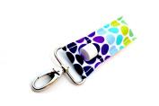 Chapstick Holder, Lip Balm Holder, Clip-On Chapstick, Rainbow Dots