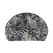 Most popular Animal 3D pattern half-moon cosmetic bag/makeup bag