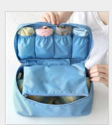 Homegifts Multi-Functional Trave Home Bra Underwear Storage Bag Receiving Package Protection Waterproof Handbag Cosmetic Make-up Storage Buggy Bag Pouch