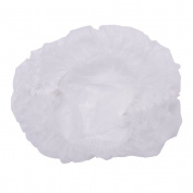 JETTINGBUY 100 pcs Disposable Non-woven Bouffant Cap Hair Net Cap ,Elastic Free Size