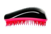 Dessata Detangling Hairbrush Black- Hot Pink