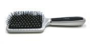 Vega Paddle Brush, Silver And Black Colour Handle
