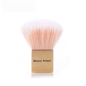 Beauty Artisan Mini Square Pink Face Powder Makeup Brush Pro Cosmetic Foundation Blush Brushes Tool