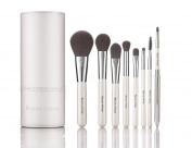 Beauty Artisan 8pcs Professional Makeup Brush Set Silky Soft Cosmetics Brushes Kit for Smooth Makeup Application