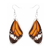 . Unique and beautiful REAL butterfly wings earring