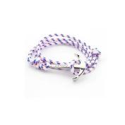 Best selling fashion nylon nautical rope women men anchor bracelet