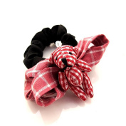 Red Colour Bear hair accessories hairpins DIY hairpins