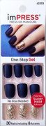"KISS 2x Longer Lasting imPRESS ""BELLS & WHISTLES"" by Broadway Press-On Manicure Nails"