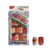 Vivace Kiss able Artificial false nails Adult Christmas Party Nails Fake Nails 11623
