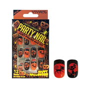 Vivace Kiss able Artificial false nails Adult Halloween Party Nails Fake Nails