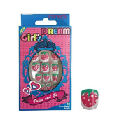 Vivace Kiss able Artificial false nails Junior Girl's Dream Fake Nails 11425