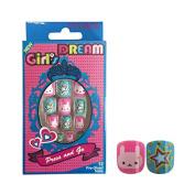 Vivace Kiss able Artificial false nails Junior Girl's Dream Fake Nails 11423