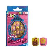 Vivace Kiss able Artificial false nails Junior Girl's Dream Fake Nails 11418