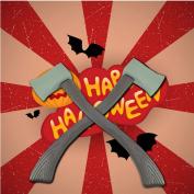 Wensltd 59cm Halloween Performance Props Devil Axe Fancy Costume Accessory