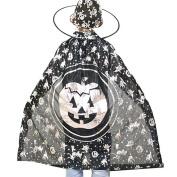 Wensltd Halloween Custome Children Horns Gowns Cloak Masquerade Cos Props