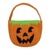 Wensltd Halloween Smile Pumpkin Candy Bag For Trick or treating