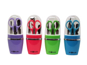 4 Piece Manicure Set Multicoloured Assorted