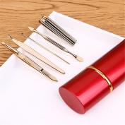 Alice Windowshop Luxury Stainless Steel Manicure Kit Set