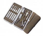 Maketop Multi- Functional 9 pcs Professional Stainless Steel Manicure Set