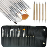 Daytingday Nail Art Design Set Dotting Painting Brush Pen Tools
